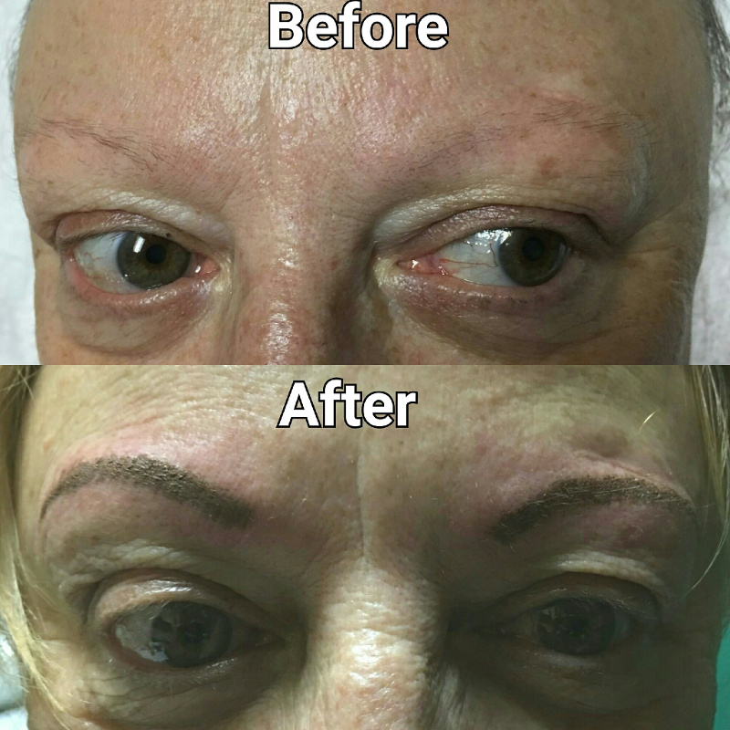 permanent makeup eyebrows in tampa