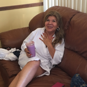 relaxing after treatment at our Tampa day spa